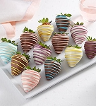 "Sp""Egg""tacular™ Dipped Strawberries"