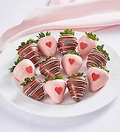 Valantine Wishes Dipped Strawberries